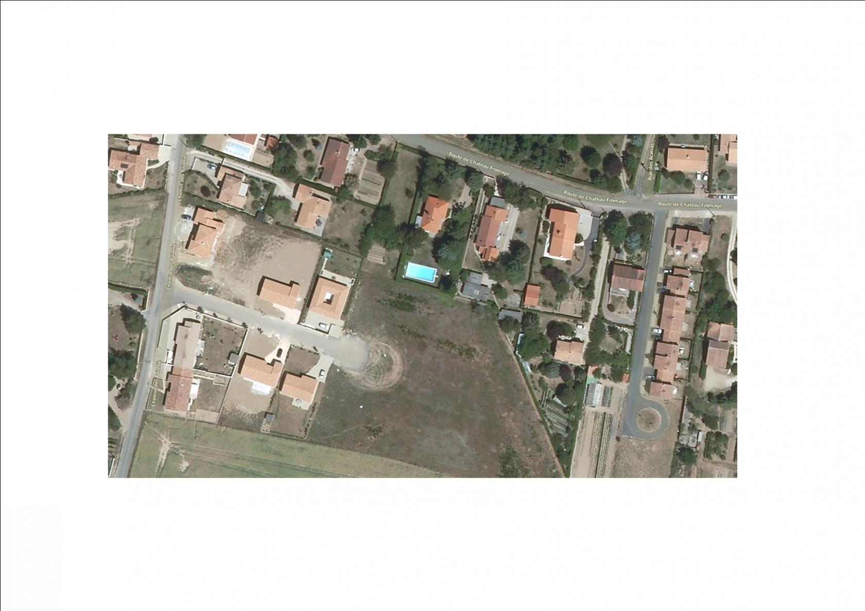 Photo du terrain à bâtir de 787 m² <br><span>BIGNOUX(86)