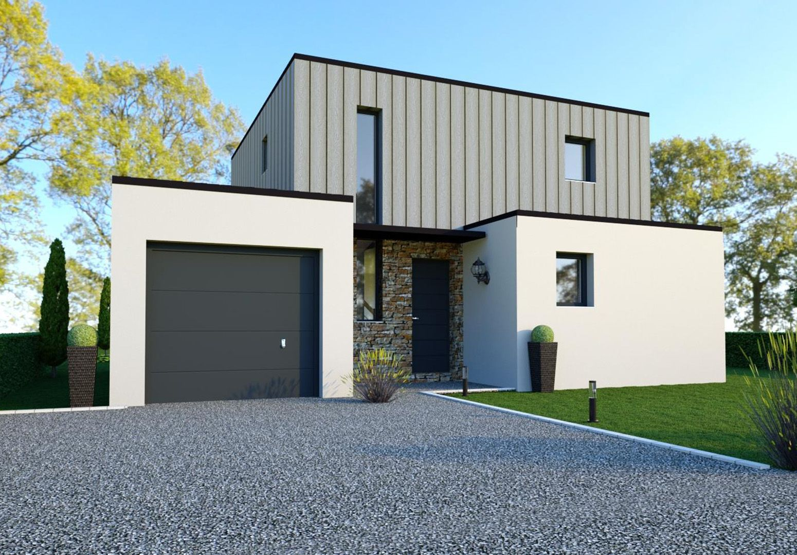Image du modèle de maison ORGÈRES 4CH 125