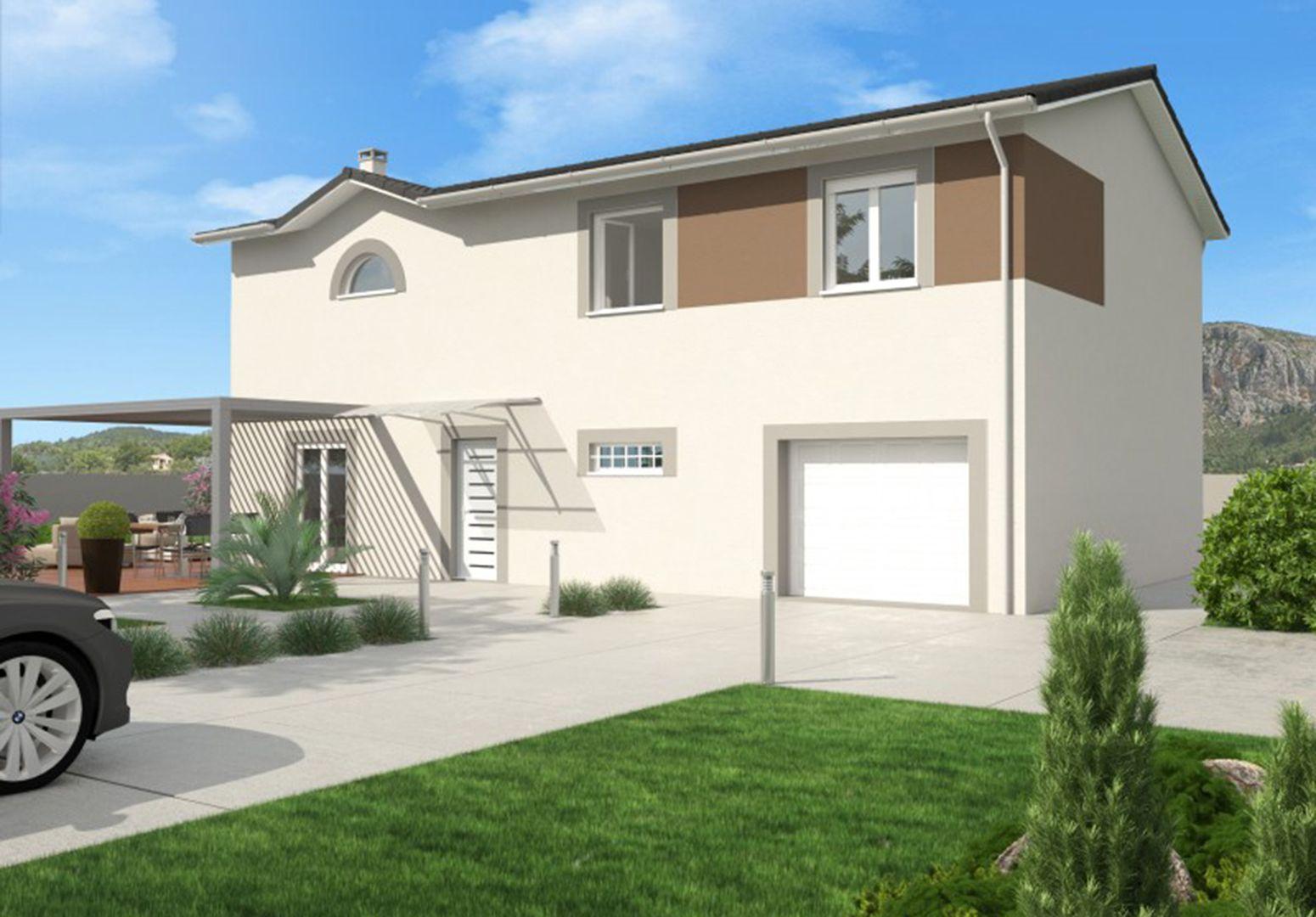 Maison 121.8 m² avec terrain à SAINTE-ANNE-SUR-GERVONDE (38) 1