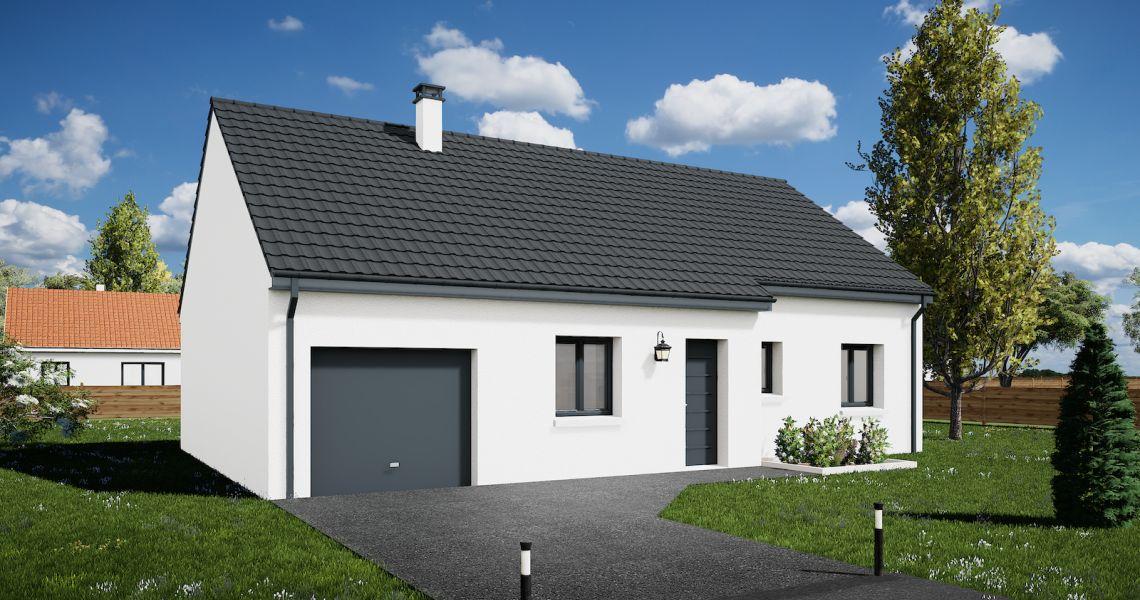 image Maison 85.18 m² avec terrain à BUSLOUP (41)