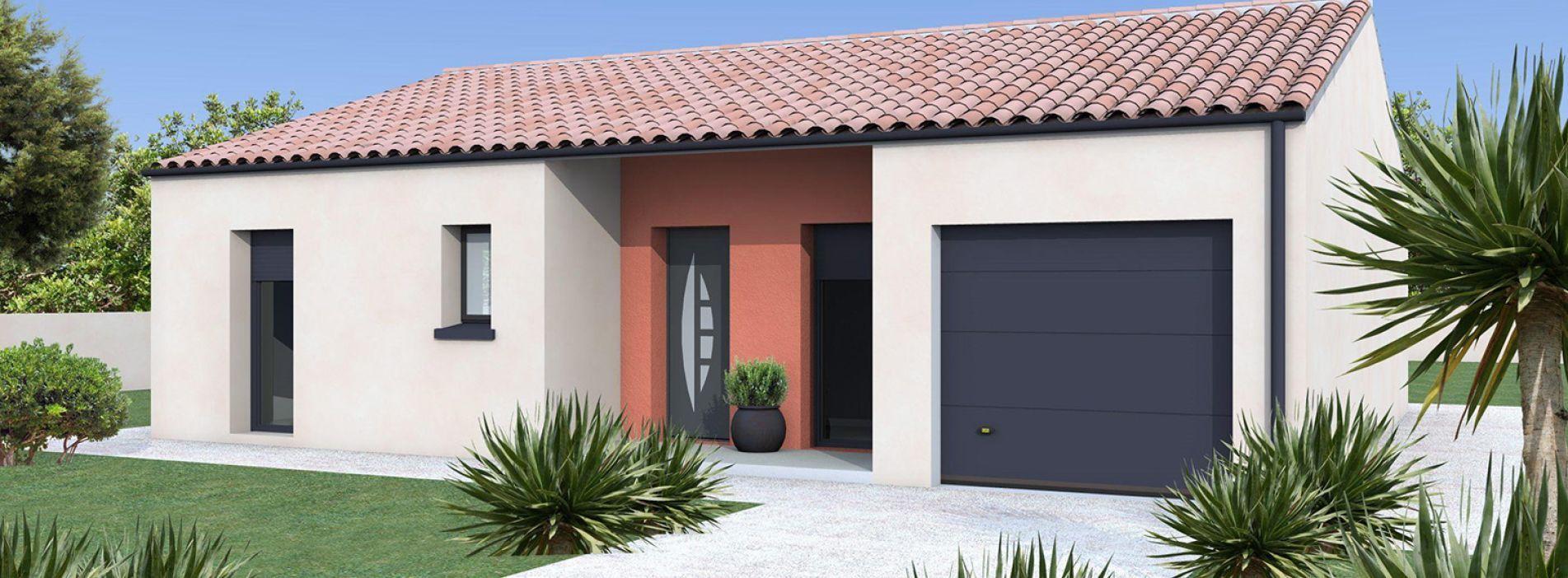Image Maison 81.35 m² avec terrain à MARCILLAC