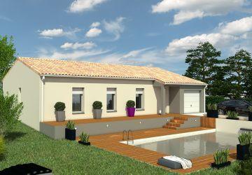 Modèle de maison BORA 3CH 100 AV T