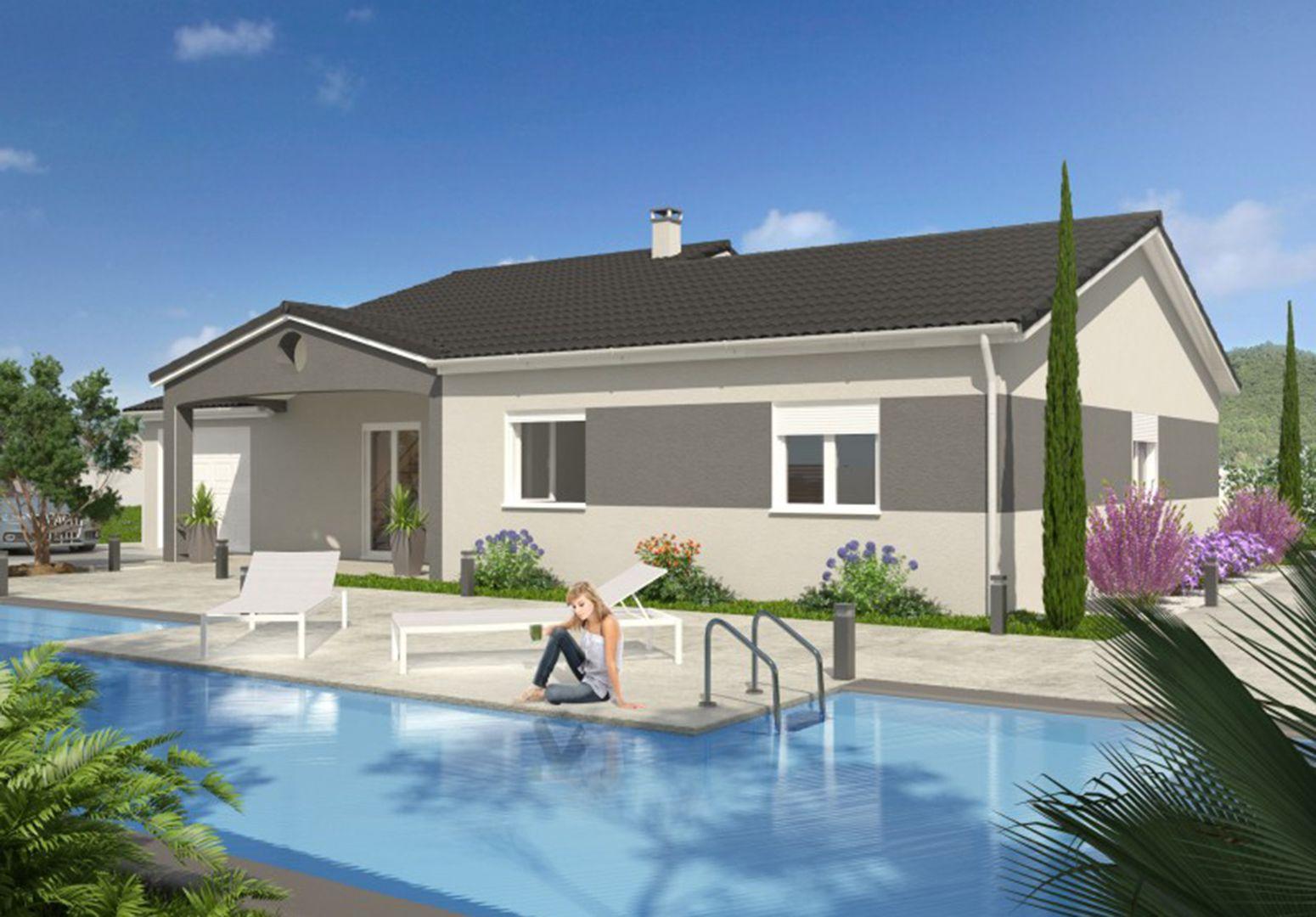 Maison 100.62 m² avec terrain à SAINTE-ANNE-SUR-GERVONDE (38) 1
