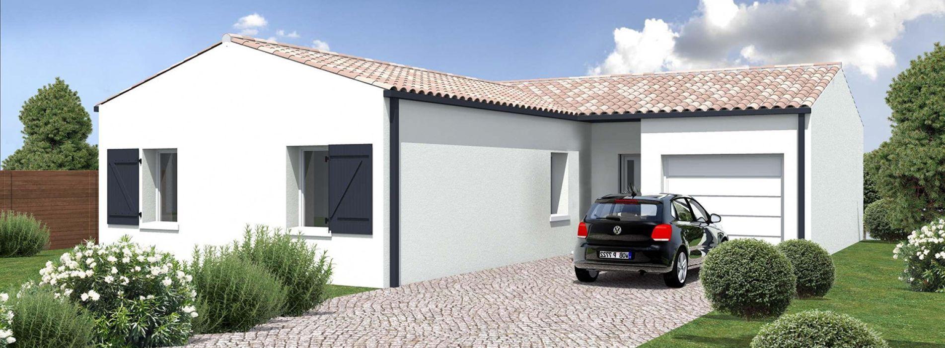 Image Maison 81.14 m² avec terrain à ANGLADE
