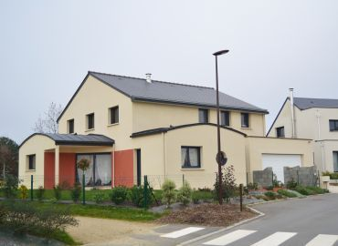 image de la construction de maison Liffré (35)