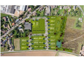 Photo du terrain à bâtir de 550m²<br> à CLEVILLIERS (28)