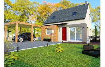 Photo maison 70m²<br>sur terrain 342m²