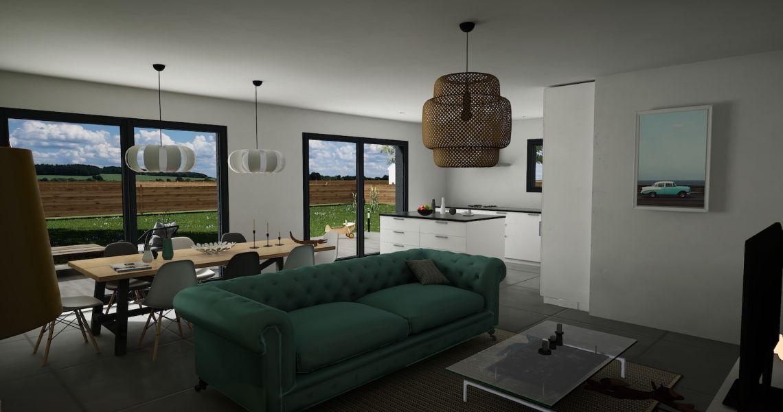 image Maison 90.15 m² avec terrain à SAINT-BOHAIRE (41)