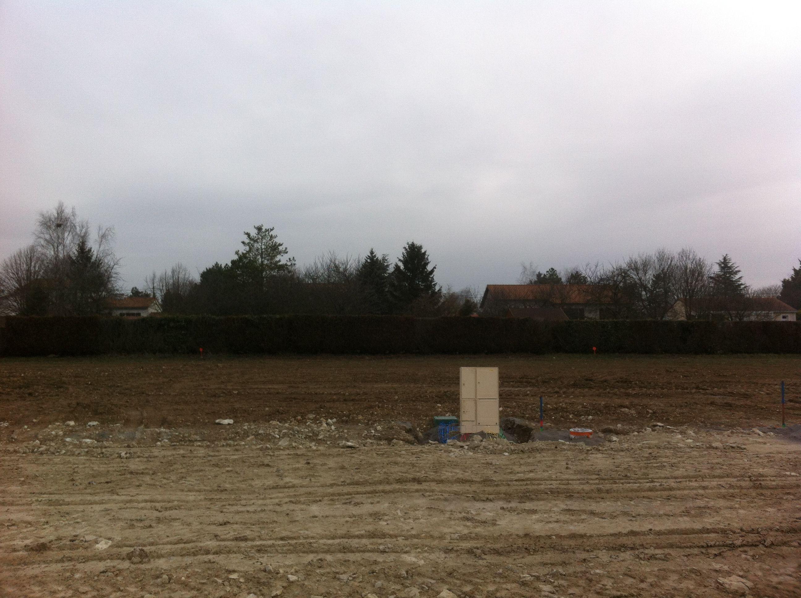 Photo du terrain à bâtir de 779 m² <br><span>CISSE(86)