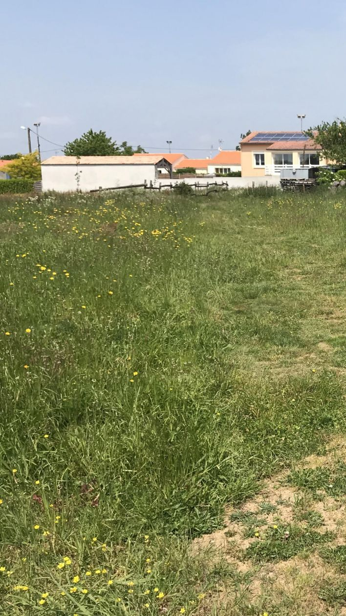 Photo du terrain à bâtir de 681 m² <br><span>ANTIGNY (85)