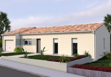 Modèle de maison BERYL T 3CH 89
