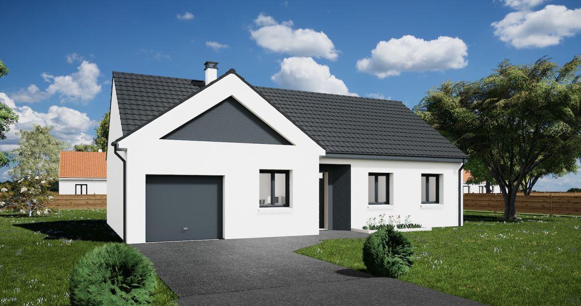 image Maison 85.82 m² avec terrain à HERBAULT (41)