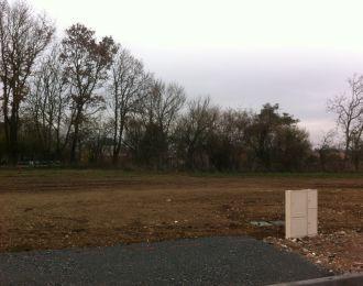 Photo du terrain à bâtir de 653 m² <br><span>CISSE(86)