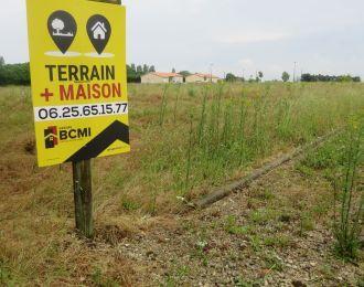 Photo du terrain à bâtir de 940 m² <br><span>VILLEFAGNAN(16)