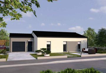 Modèle de maison Modèle de 81 m² à 169 000,00 €