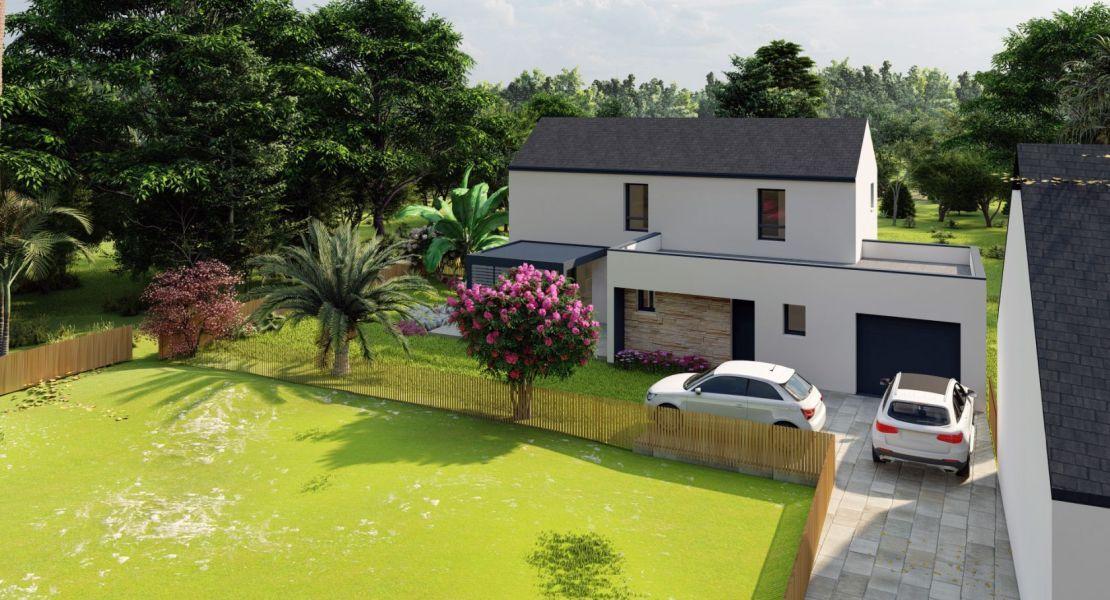 image Maison 115 m² avec terrain à LE PELLERIN (44)