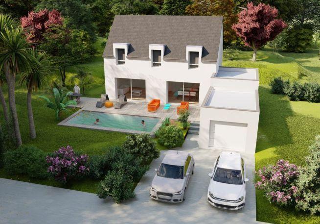 Maison 135 m² avec terrain à GUERANDE (44)