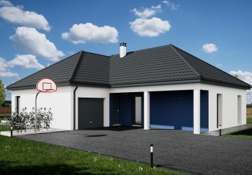 image offre-terrain-maison Maison 90.15 m² avec terrain à SAINT-HILAIRE-SAINT-MESMIN (45)