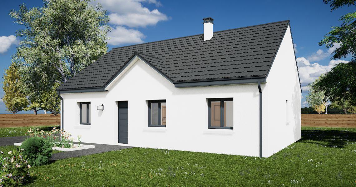 image Maison 85.46 m² avec terrain à NIBELLE (45)