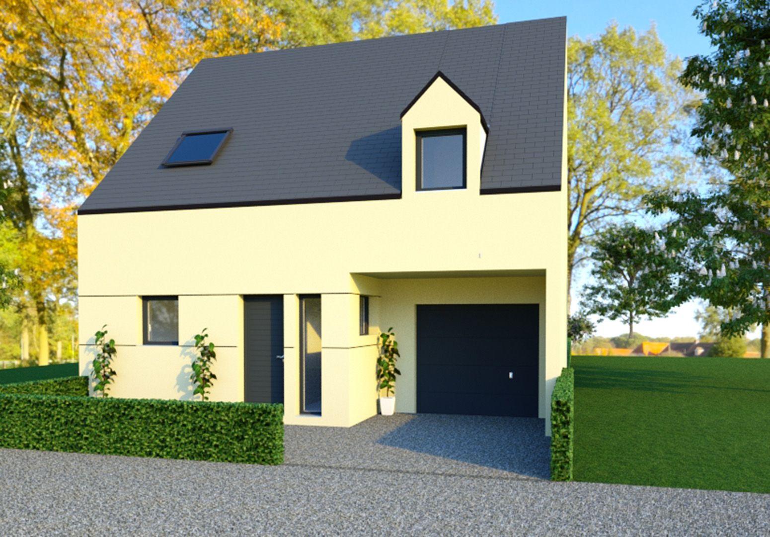 Image du modèle de maison SAINT-GRÉGOIRE 4CH 124