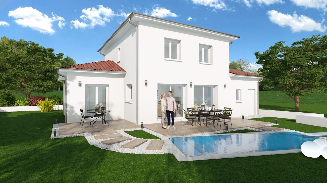 Maison 108 m² avec terrain à DIEMOZ (38) 2