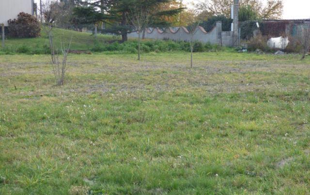 Photo du terrain à bâtir de 800 m² <br><span>CHATELLERAULT(86)