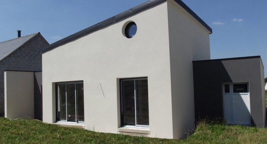 image Livraison d'une construction de maison neuve à BEGANNE (56)