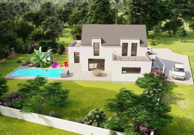 Maison 135 m² avec terrain à HERBIGNAC (44)