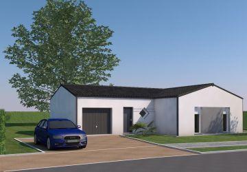 Modèle de maison Modèle de 74.9 m² à 156 900,00 €