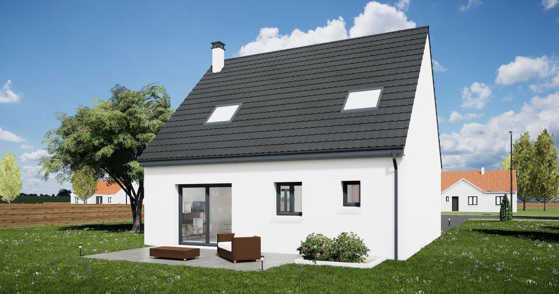 image Maison 95 m² avec terrain à CHITENAY (41)