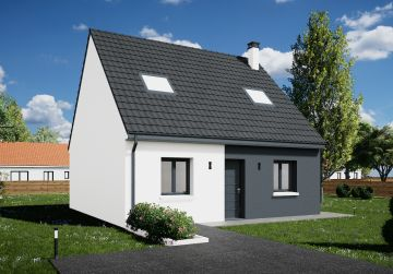image offre-terrain-maison Maison 90.23 m² avec terrain à SAINT-HILAIRE-SAINT-MESMIN (45)