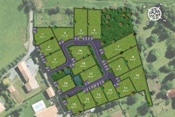 Image du terrain à bâtir à MOUGON