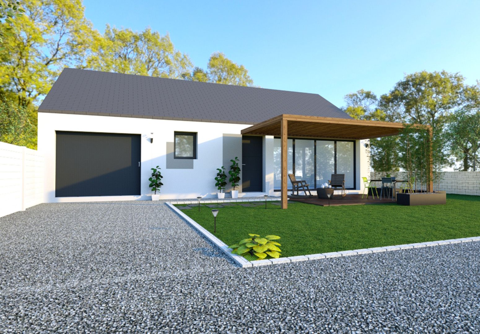 Image du modèle de maison NOUVOITOU 3CH 72