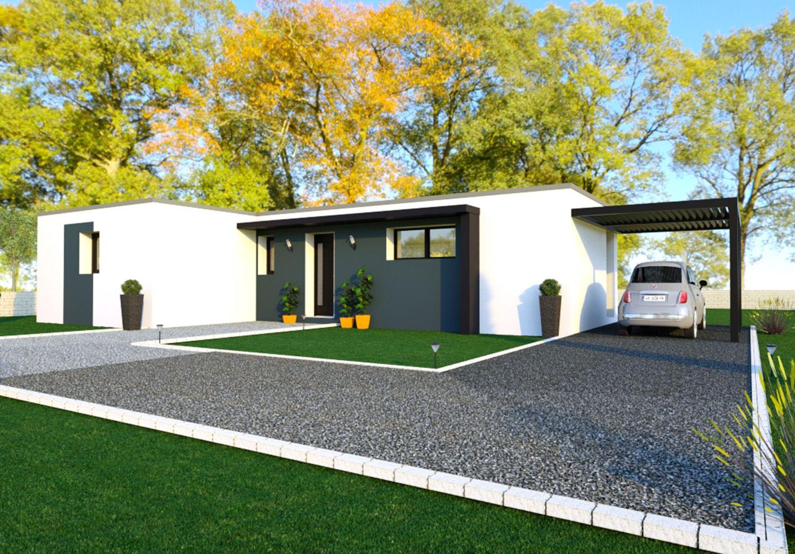 Image du modèle de maison PLÉRIN 3CH 100