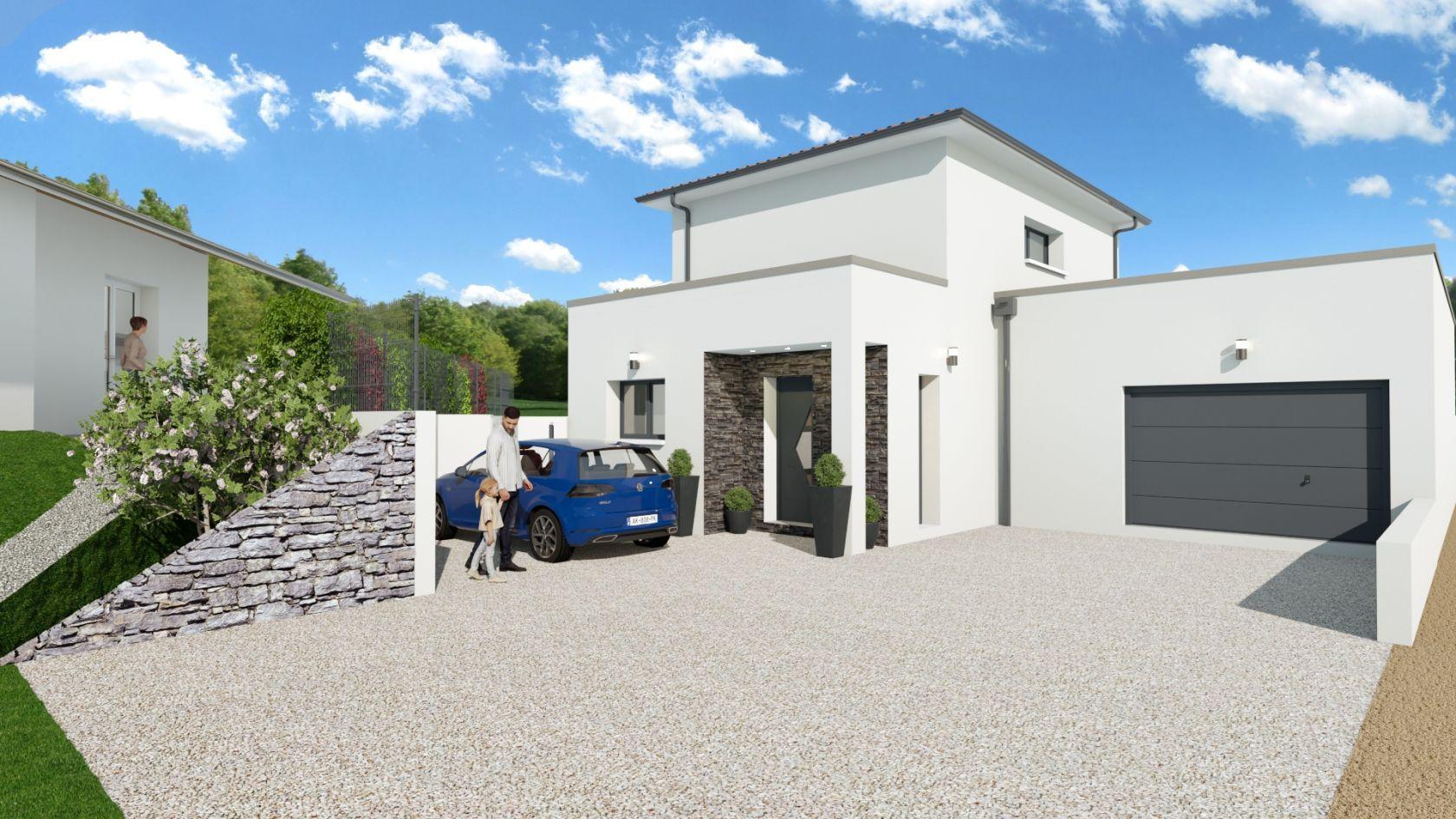 Maison 111 m² avec terrain à GENAS (69) 2