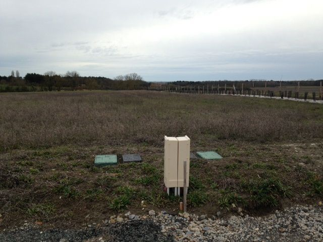 Photo du terrain à bâtir de 756 m² <br><span>MARIGNY-BRIZAY(86)