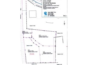 Photo du terrain à bâtir de 600m²<br> à SAINT-AUBIN-DES-BOIS (28)