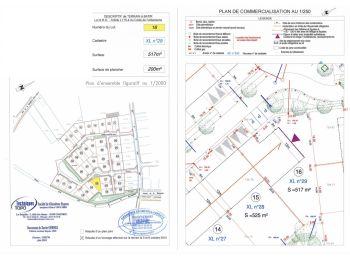 Photo du terrain à bâtir de 517m²<br> à ILLIERS-COMBRAY (28)