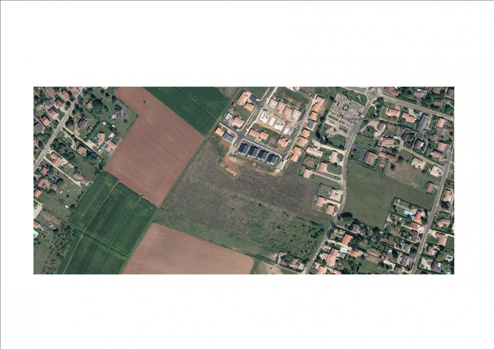 Photo du terrain à bâtir de 530 m² <br><span>VOUNEUIL-SOUS-BIARD(86)