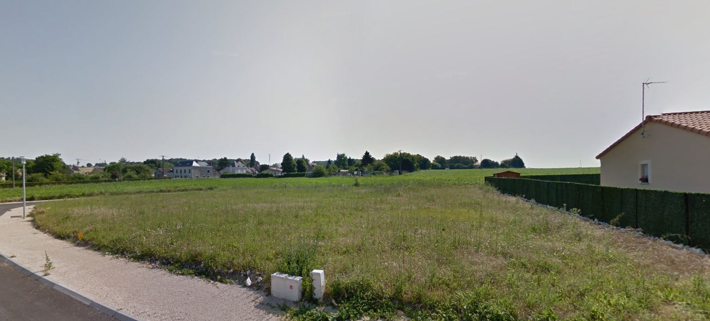 Photo du terrain à bâtir de 780 m² <br><span>LES ORMES(86)
