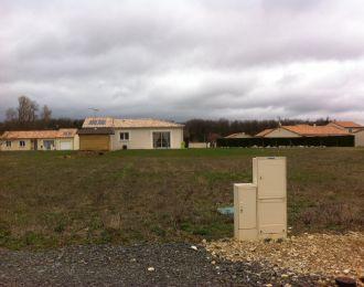 Photo du terrain à bâtir de 600 m² <br><span>SEVRES-ANXAUMONT(86)