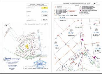 Photo du terrain à bâtir de 604m²<br> à ILLIERS-COMBRAY (28)