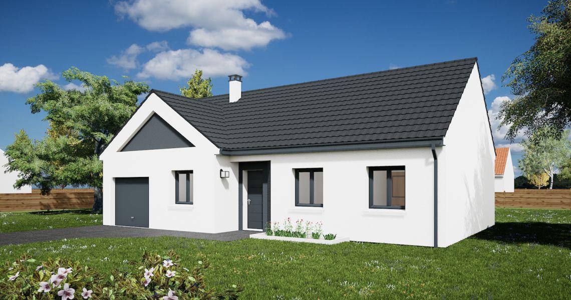 image Maison 85.82 m² avec terrain à MUIDES-SUR-LOIRE (41)