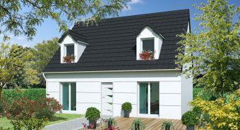 Photo de la maison 4CH de 108m²<br> à DAMMARTIN-EN-SERVE (78)