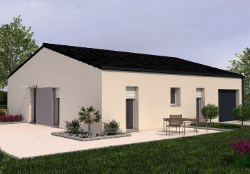 Modèle de maison PAPAYE 3CH 76 - Salon AR