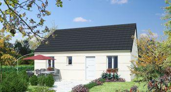 Photo de la maison 2CH de 70m²<br> à YMERAY (28)