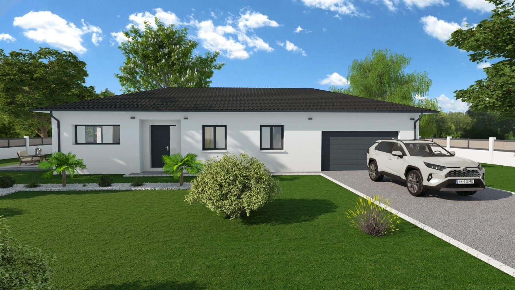 Maison 85.5 m² avec terrain à SAINTE-ANNE-SUR-GERVONDE (38) 2