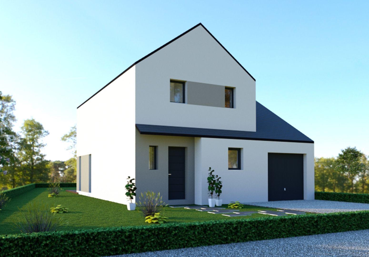 Image du modèle de maison PERROS-GUIREC 3CH 100