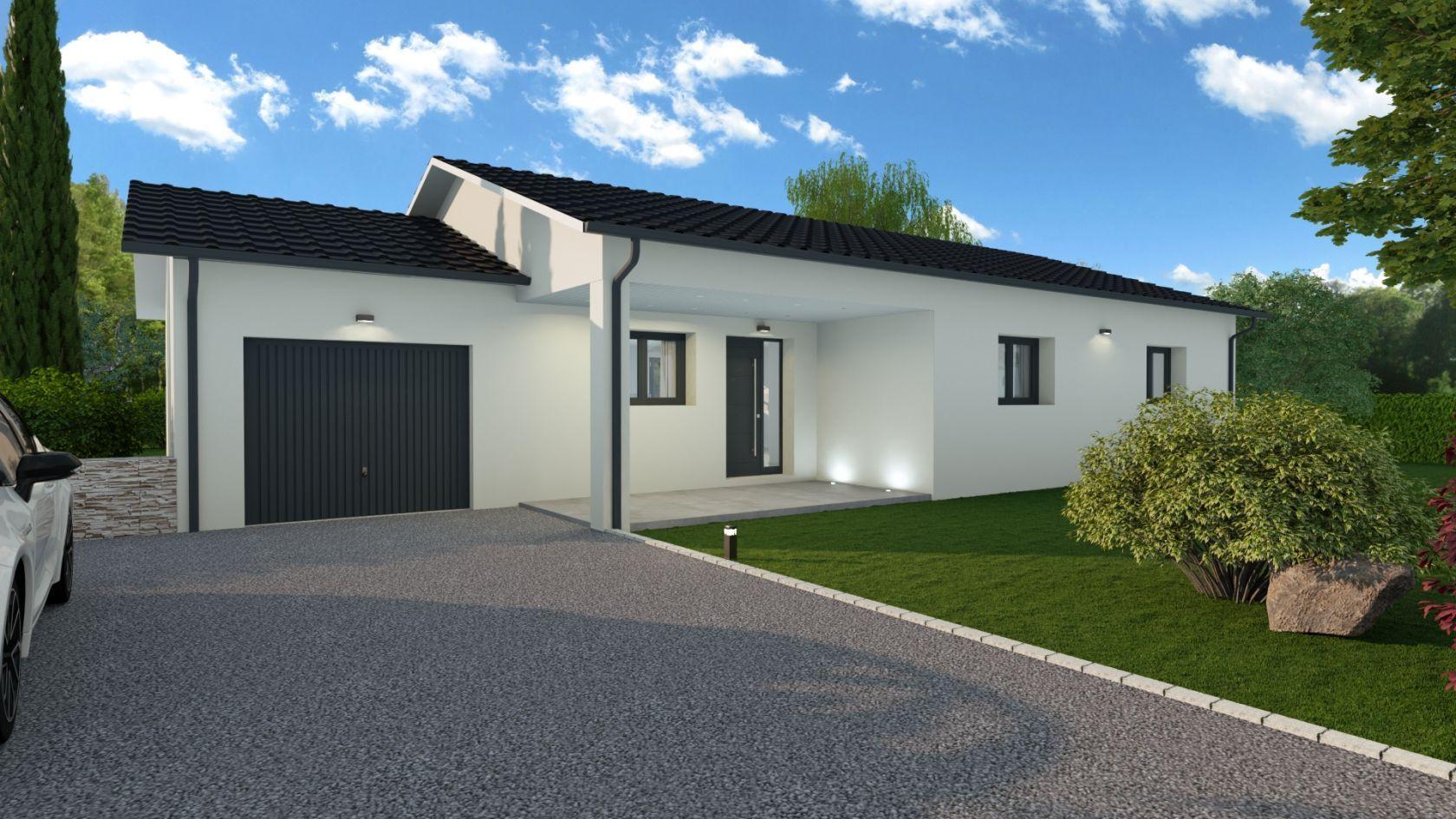 Maison 89.4 m² avec terrain à SAINTE-ANNE-SUR-GERVONDE (38) 2