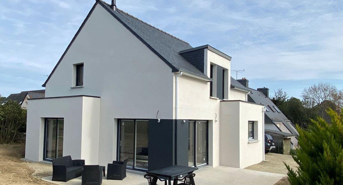 image Livraison d'une construction de maison neuve à QUESTEMBERT (56)